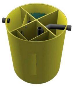 конструкция станции биологической очистки Biolos стандарт картинка