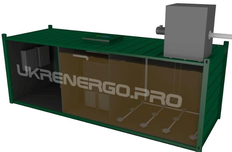 Контейнерные канализационные очистные сооружения Biolos-MBR