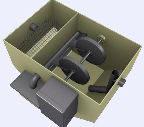 Автоматический жироуловитель Biolos-F-A
